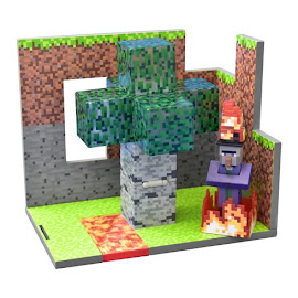 Minecraft Series 4 Witch Overworld Figure