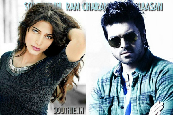 Hot Shruti Haasan tempting Ram Charan for this movie? Is Shruti Haasan tempting Ram Charan to remake Rocky Handsome in Telugu. She is co-producing this movie and prefers Ram Charan do this movie down south. Ram Charan, Shruti Haasan, hot 2016, Shruti haasan, Latest images, Rocky Handsome, 2016 HD images, Sexy Shruti Haasan, Southie