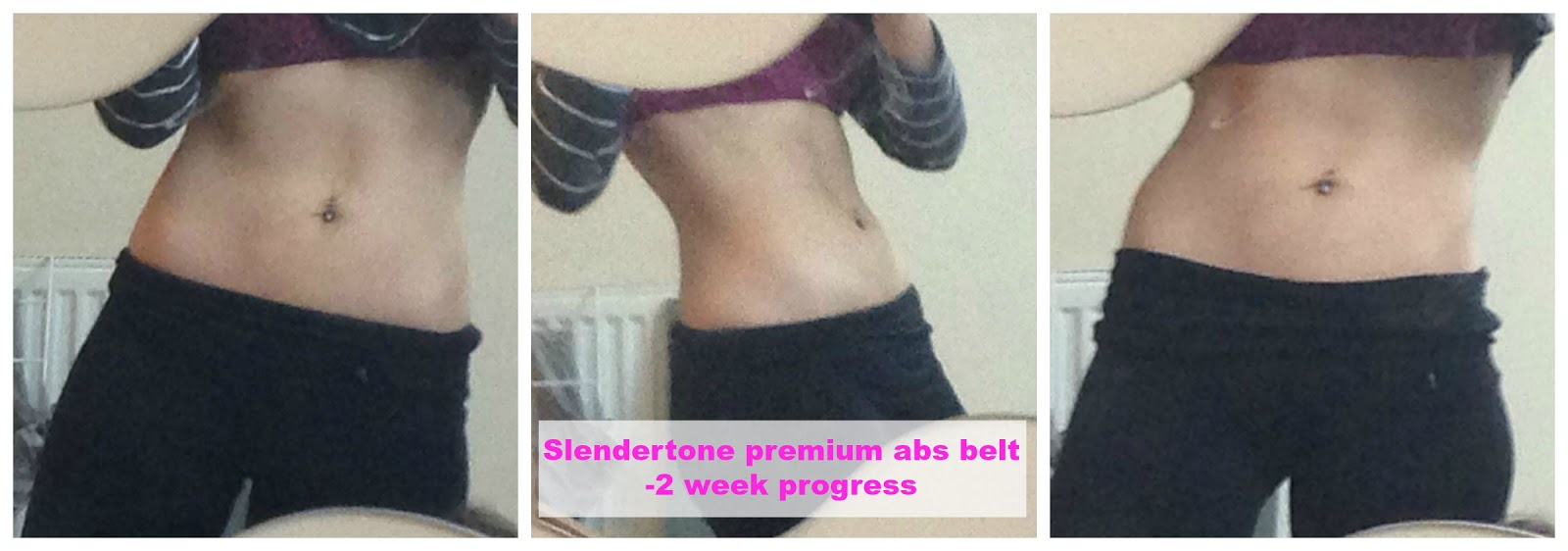 Slendertone Abs belt review - 2 week progress update!