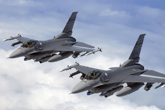 USAF F-16 midair collision Georgia