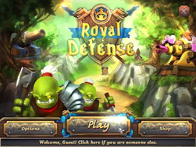 皇家塔防1代硬碟綠色免安裝版,適合消磨時間的益智好遊戲!
