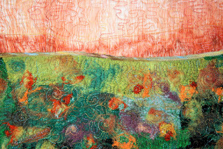 In Dreams I Saw the Colors Change, by Sue Reno, detail