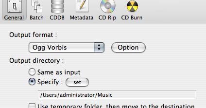 PPC Luddite: Some Ogg Vorbis Tools for Your Mac