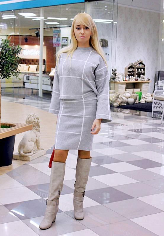 "Shopping in Zaful: Трикотажный костюм-""двойка"" и красная дамская сумочка / отзывы"