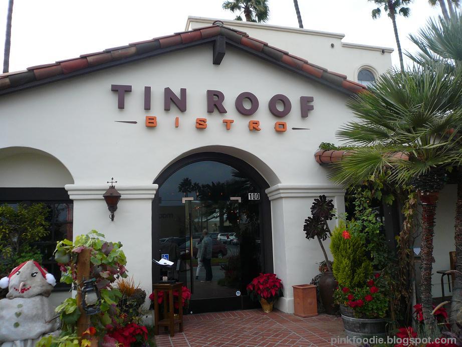 Pink Foodie Tin Roof Bistro Manhattan Beach