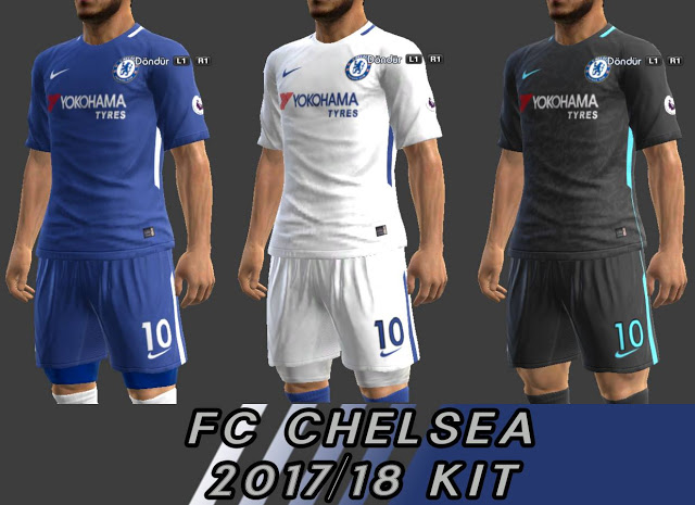 PES 2013 Chealse New Kit 2017 18 - Minosta4u - PES PATCH  45c49cd77