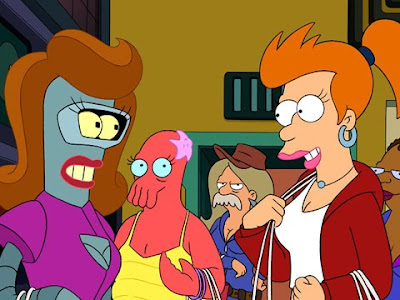 the blog of espanolbot clip of the new futurama episode