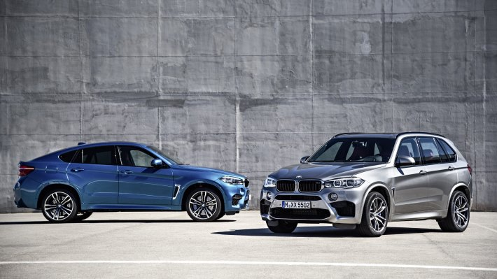 Wallpaper 3: BMW X5 M and BMW X6 M 2015