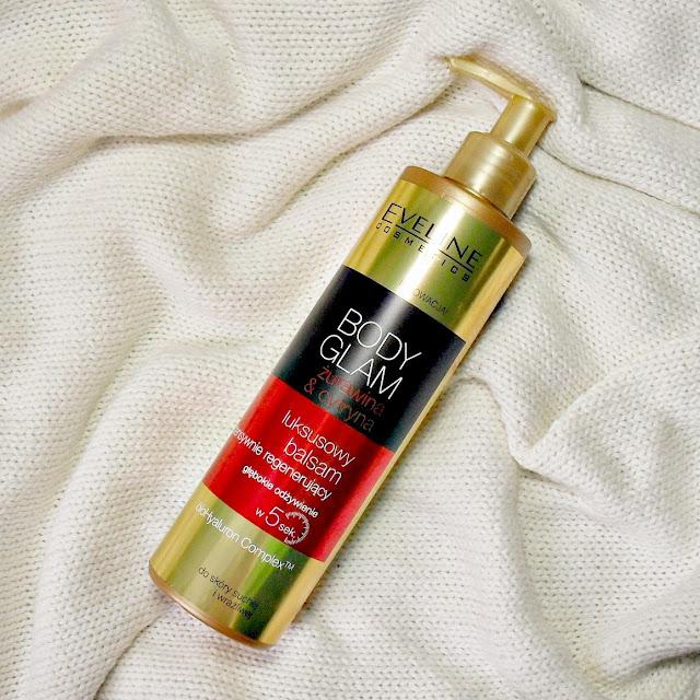 Eveline | BODY GLAM | luksusowy balsam żurawina&cytryna