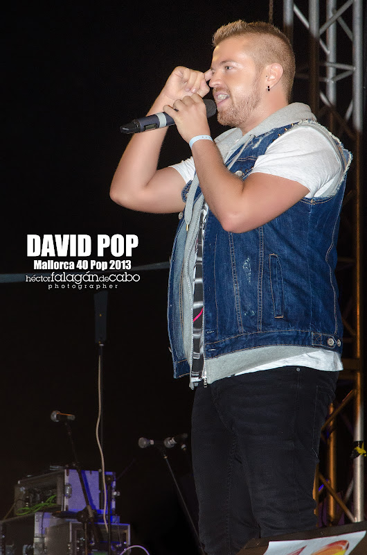 David Pop en el Mallorca 40 Pop 2013. Héctor Falagán De Cabo | hfilms & photography.