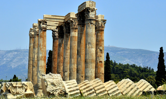 Temple of Olympian Zeus in Athens to get structural makeover