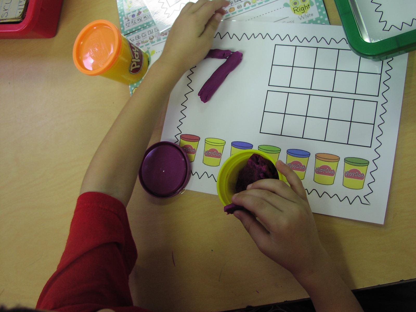 Keen On Kindergarten First Week Math Centers