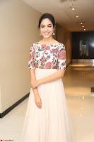 Ritu Varma smiling face Cream Anarkali dress at launch of OPPO New Selfie Camera F3 ~  Exclusive 059.JPG