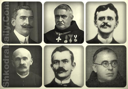 komisia letrare shqipe shkoder, luigj gurakuqi, gjergj fishta, sotir peçi, ndre mjeda, mati logoreci, ambroz marlaskaj