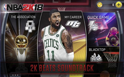 NBA 2K18 Mod Apk + Data v35.0.1 Unlimited Money Terbaru
