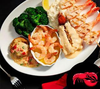 Red Lobster Canada Menu Prices June 5 - 30, 2017