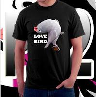 Kaos Burung Lovebird NEW FP1357