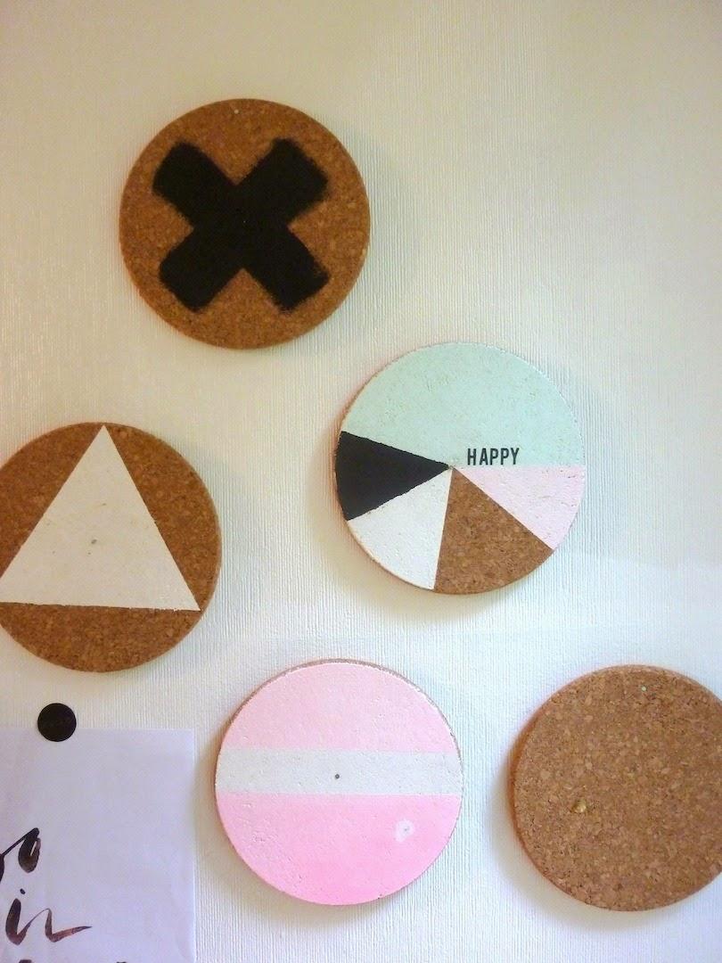 sous plat en li ge sur le mur tableau diy facile valy 39 s blog. Black Bedroom Furniture Sets. Home Design Ideas