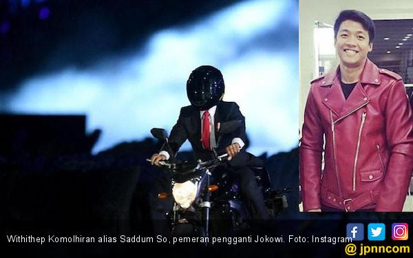 Sosok Ganteng di balik Aksi Jokowi Ternyata Asal Thailand