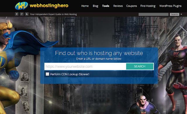 how to find out who hosts a website 2 web host look up