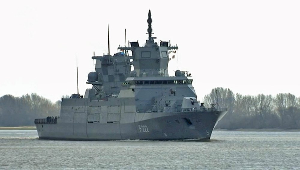 Naval Analyses Baden W 252 Rttemberg Class Frigates Of The