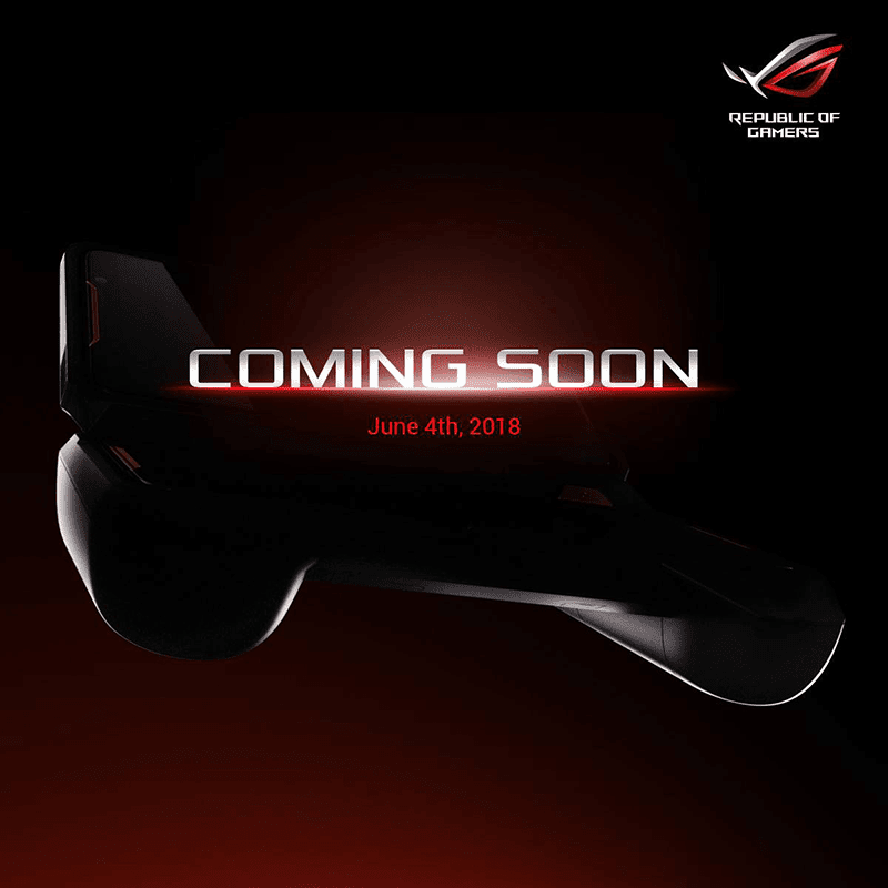 ASUS ROG teases a console looking device, is this the ROG phone?