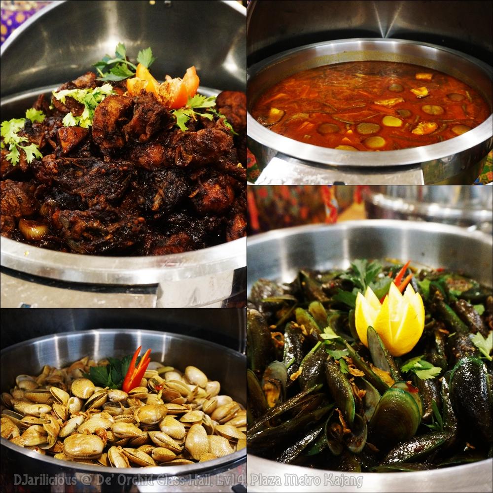 Djarilicious Catering, De' Orchid Glass Hall, Bufet ramadan di Selangor, Bufet Ramadan Murah, Harga Bufet Ramadan, Rawlins Eats, Rawlins GLAM