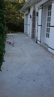 Chantier Terrasse extérieure à Pompaire 79 (c) Philpro Carreleur