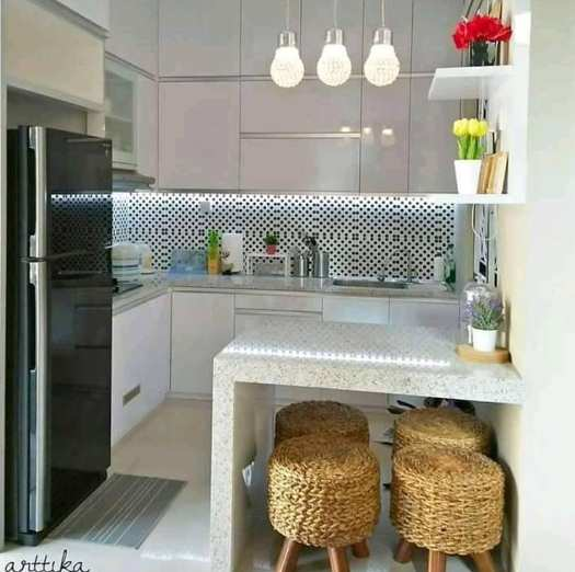 contoh dapur minimalis terbaru 2019