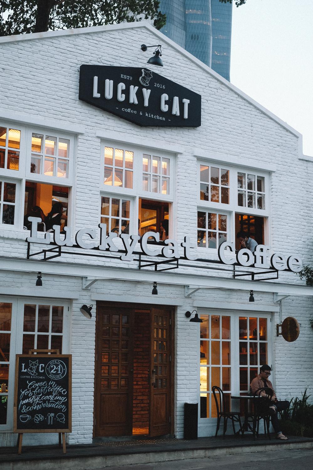 LUCKY CAT COFFEE & KITCHEN JAKARTA - eatandtreats - Indonesian Food ...