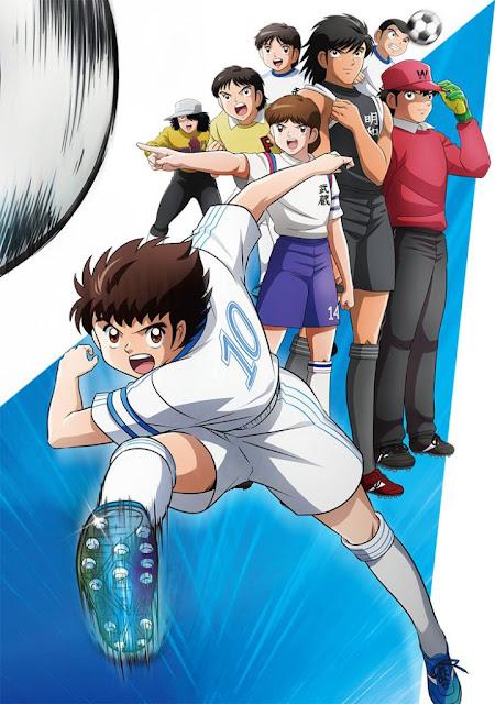 """Nueva imagen promocional de la nueva serie de """"Captain Tsubasa""""."""