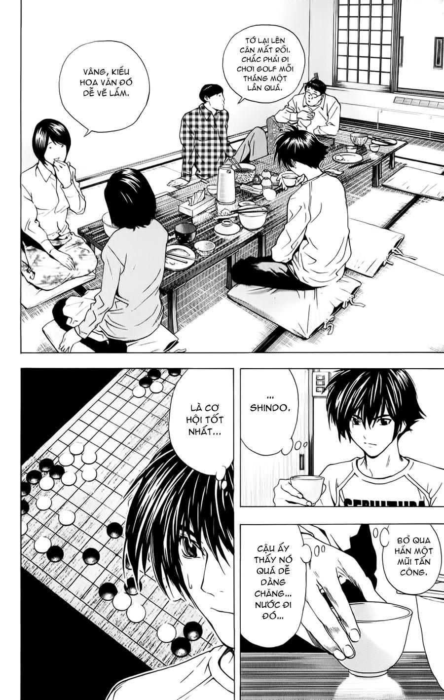 Hikaru No Go hikaru no go chap 149 trang 12
