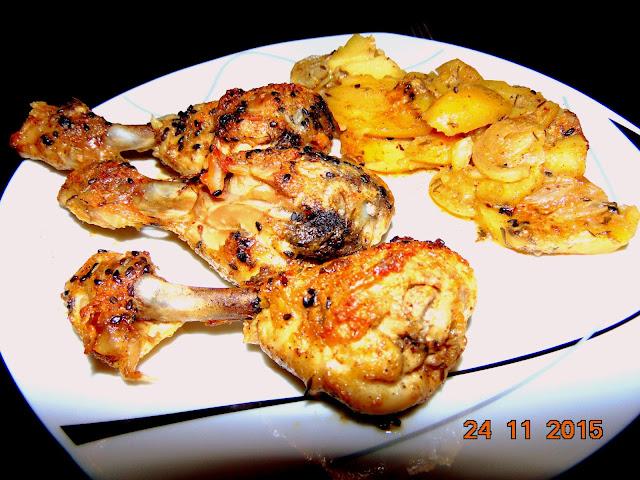 Mega soczyste pałki z kurczaka w marynacie majonezowo - musztardowej