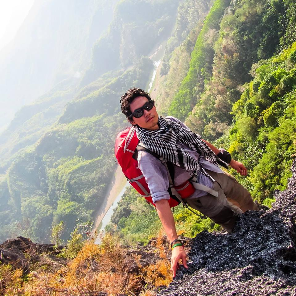lifeless body of Lorenzo Peña, a 22-year-old call center agent and mountain climber