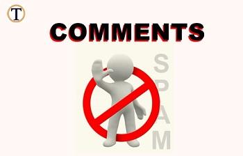 Ciri Komentar Spam
