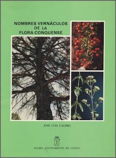 Nombres vernáculos de la flora conquense