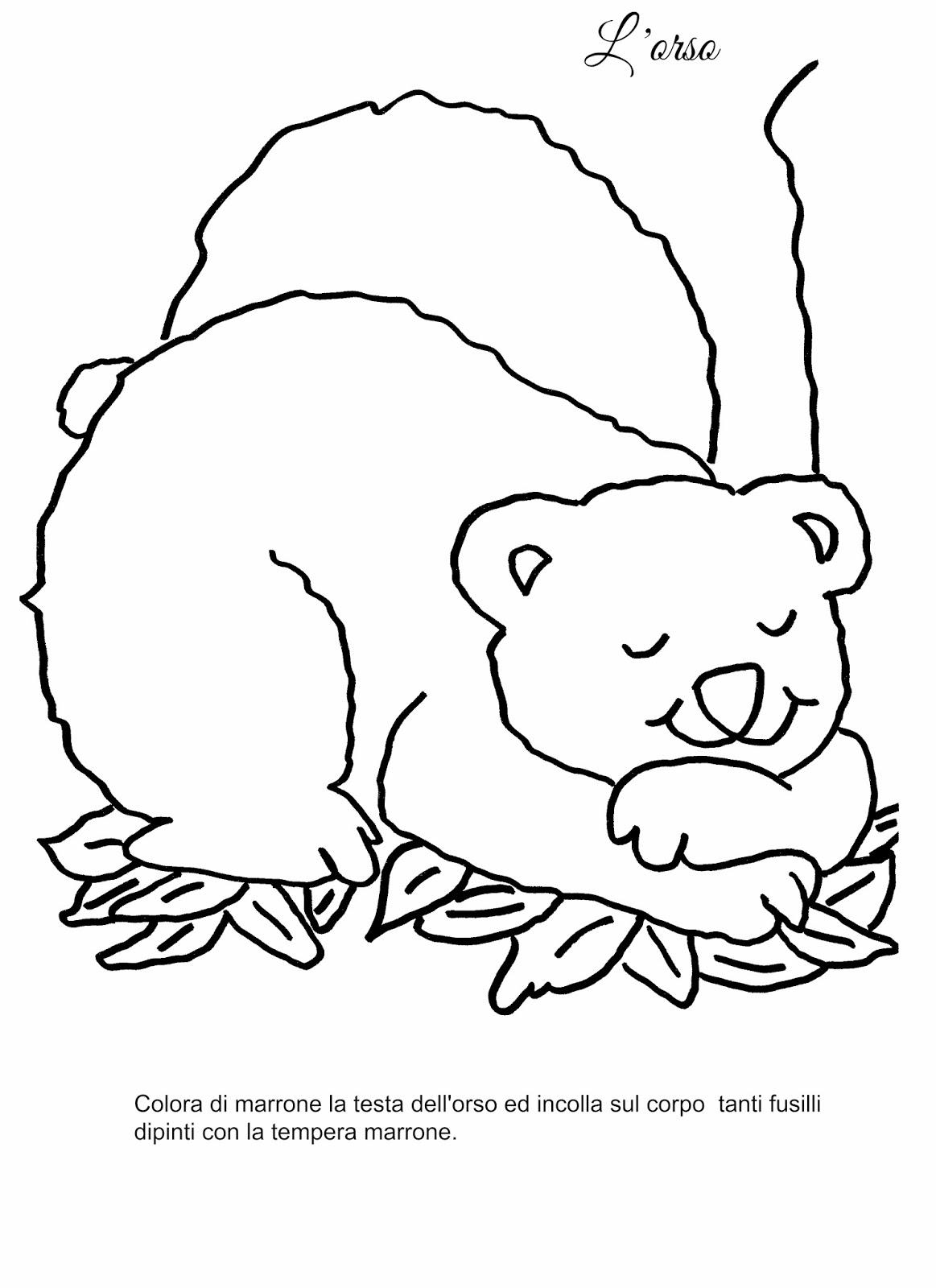 La maestra Linda: Autunno: gli animali che vanno in letargo