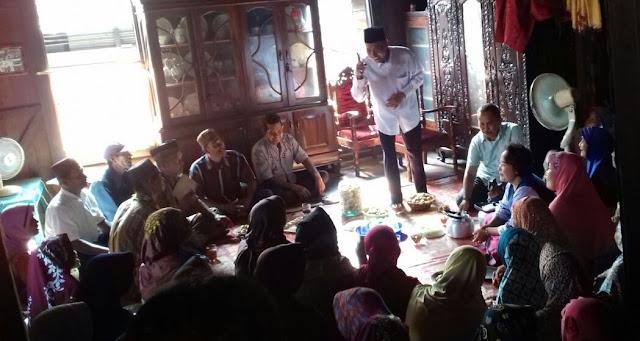 Djakfar Shodiq Dialog Dengan Warga Kecamatan Pedamaran