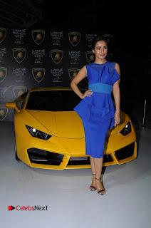 Actress Neha Sharma Latest Stills in Blue Dress at Lakme Fashion Week Summer Resort 2017  0013.jpg