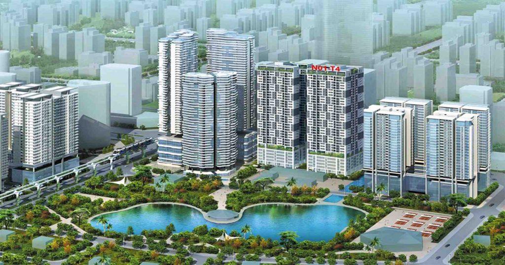 Phối cảnh tổng thể dự án Phú Mỹ Complex