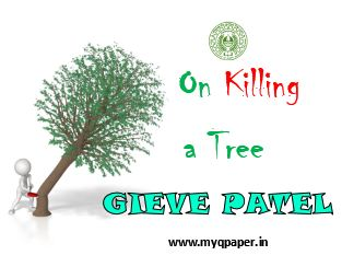 Download WB Board Class XII English Notes | On Killing a Tree I
