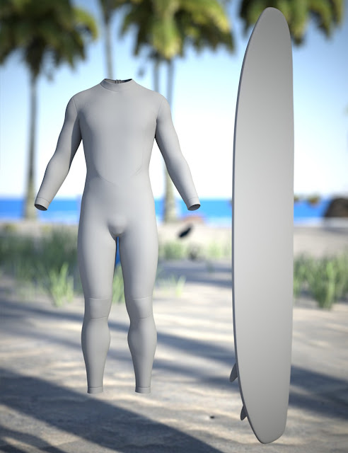 Wave Breakers for Genesis 3 Male