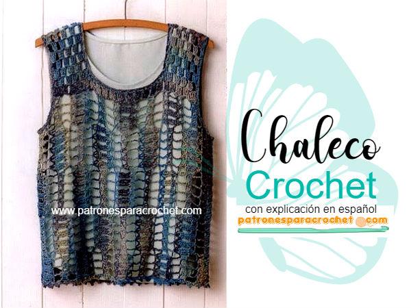 Chaleco fácil y hermoso / Paso a paso | Patrones para Crochet