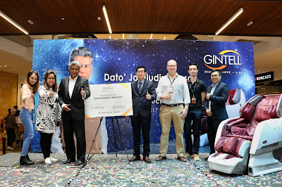 GINTELL DE'SPACE UFO MASSAGE CHAIR BY DATO' JALALUDIN HASSAN