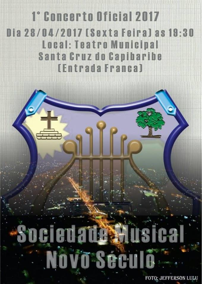 Sociedade Musical Novo Século realiza 1º Concerto Oficial 2017