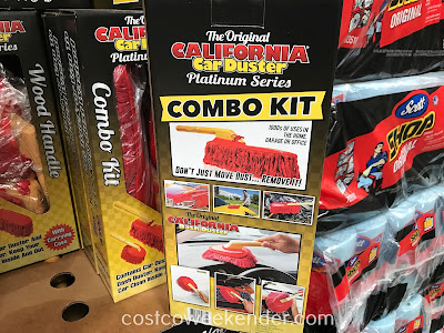 Costco 1137517 - California Car Duster Combo Kit: won't scratch car's paint