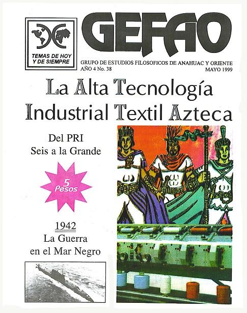 LA ALTA TECNOLOGIA INDUSTRIAL TEXTIL AZTECA, Revista GEFAO