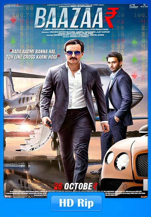 Baazaar 2018 Hindi 720p Untouched WEBHD x264 | 480p 300MB | 100MB HEVC