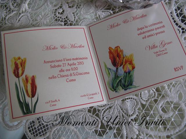 floral4 Partecipazioni card linea florealeLinea Floreale