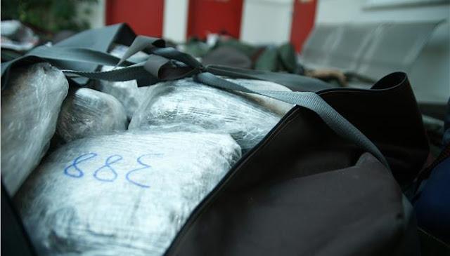 Θεσπρωτία: Κουβαλούσε στην πλάτη 18 κιλά χασίς από την Αλβανία έως το Ράγιο Θεσπρωτίας!